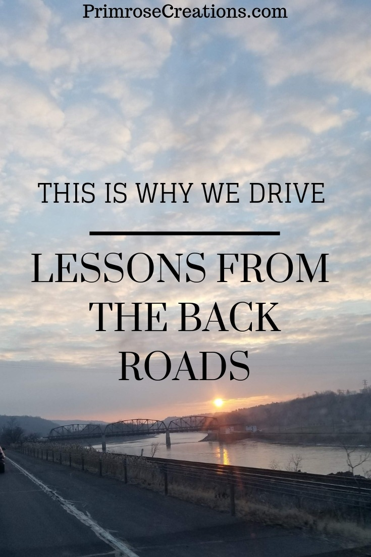 History and experiences are found on the back roads that surround you. Allow yourself to be humbled by what came before you. The intimacy teaches many lessons!