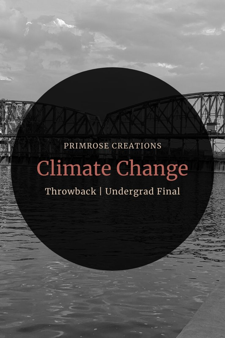 This final was to design a class on Climate Change for a group of students. The introduction sets up the location followed by how and what will be taught.