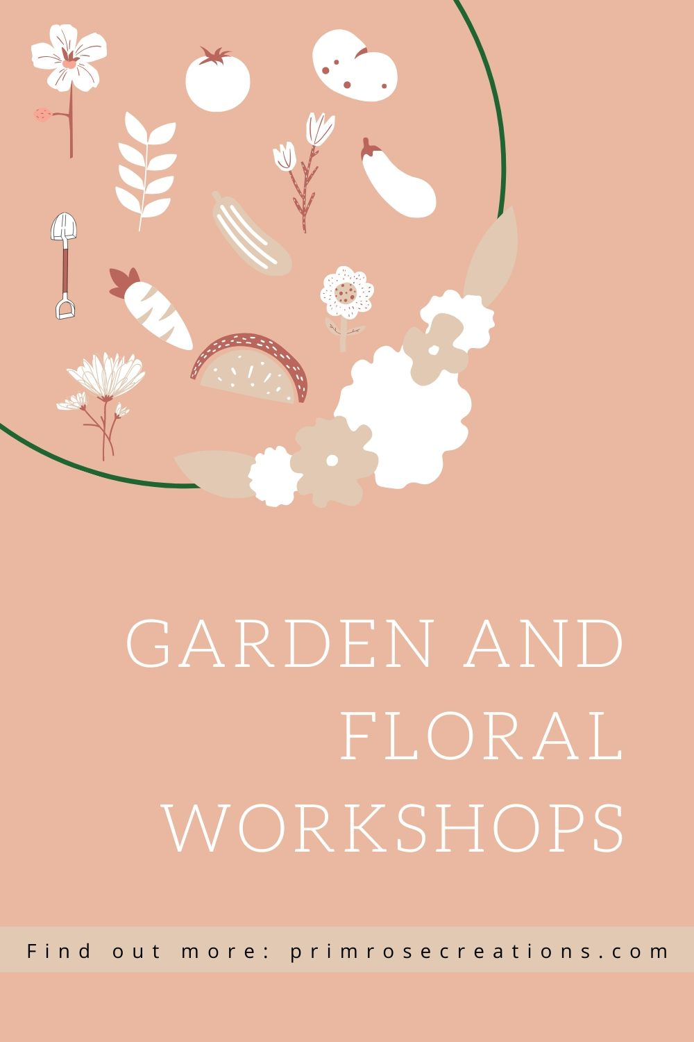 Workshops by Primrose Creations are available in the Amsterdam, NY area and include topics such as container and pollinator gardening and garden planning.